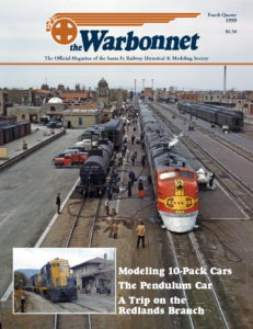 Warbonnet, Volume 5, No. 4, 4th Quarter, 1999