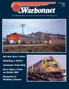 Warbonnet, Volume 7, No. 1, 1st Quarter, 2001