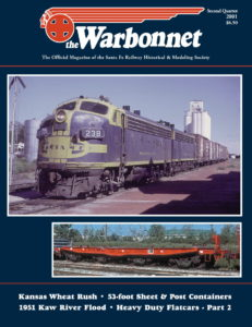 Warbonnet, Volume 7, No. 2, 2nd Quarter, 2001
