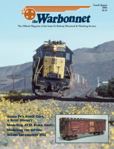 Warbonnet, Volume 7, No. 4, 4th Quarter, 2001