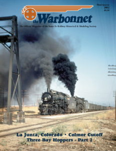Warbonnet, Volume 8, No. 3, 3rd Quarter, 2002