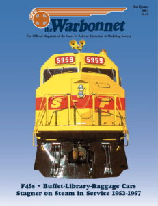 Warbonnet, Volume 9, No. 1, 1st Quarter, 2003