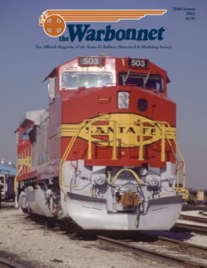 Warbonnet, Volume 9, No. 3, 3rd Quarter, 2003
