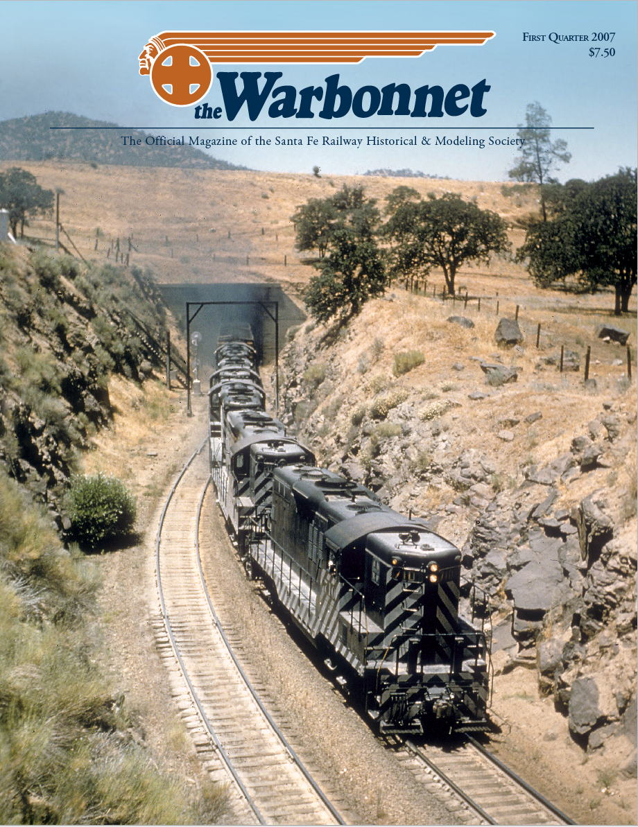 Warbonnet 2007 The Santa Fe Railway Historical And