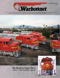 Warbonnet, Volume 18, No. 1, 1st Quarter, 2012