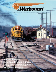 Warbonnet, Volume 22, No. 1, 1st Quarter, 2016