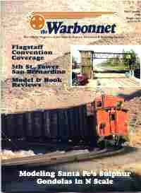 Warbonnet, Volume 4, No. 3, 3rd Quarter, 1998