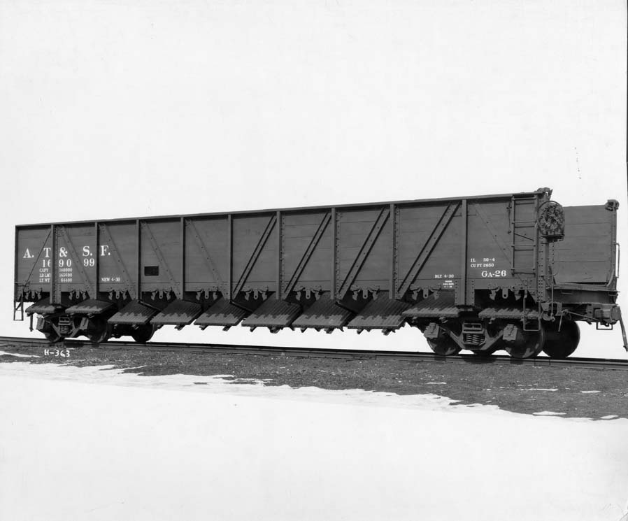 Archived Rolling Stock Photos The Santa Fe Railway