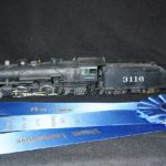 ATSF Mikado #3116 (model)