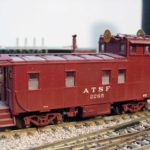 ATSF Caboose #2265 left side
