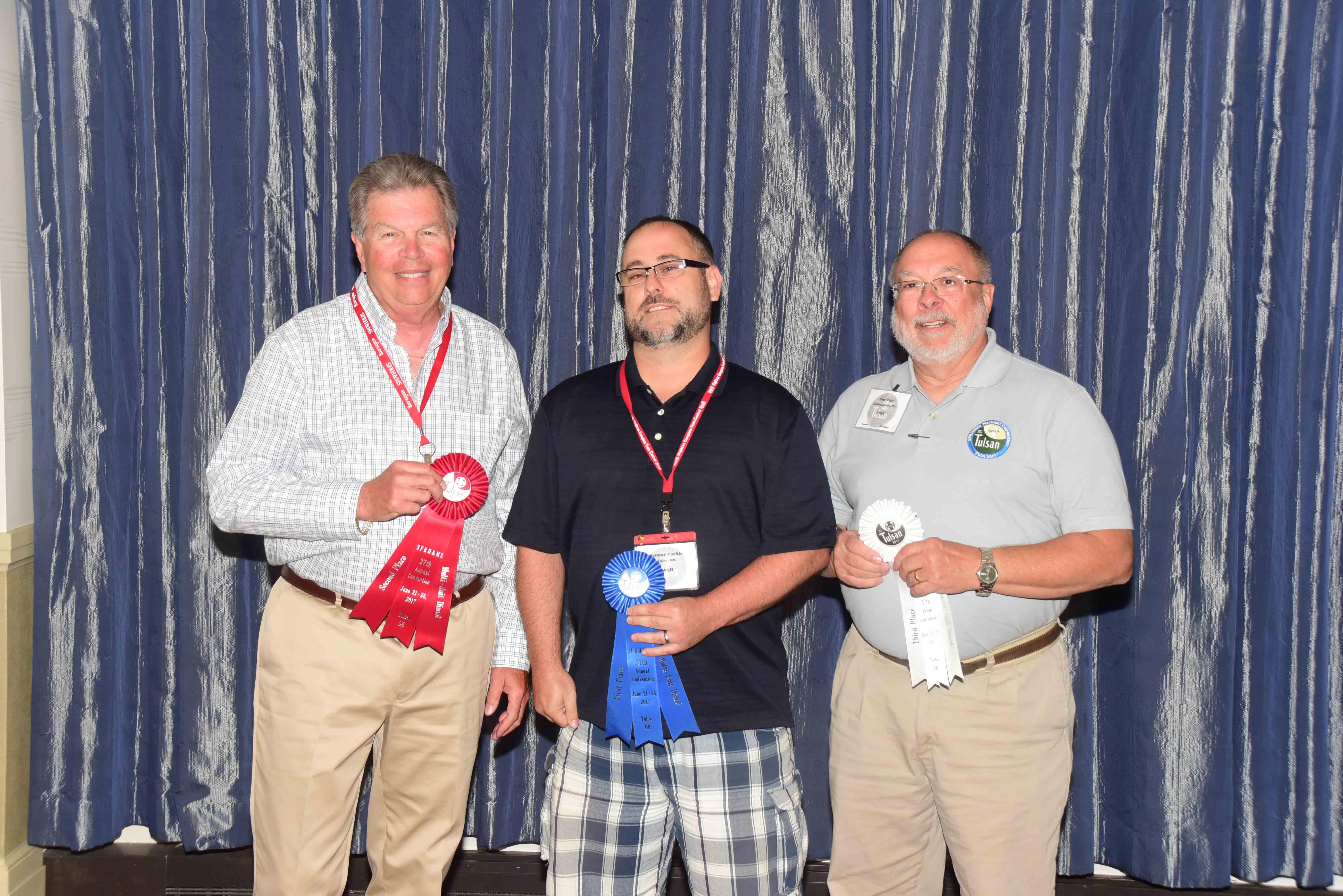 Photo of MU Diesel category winners