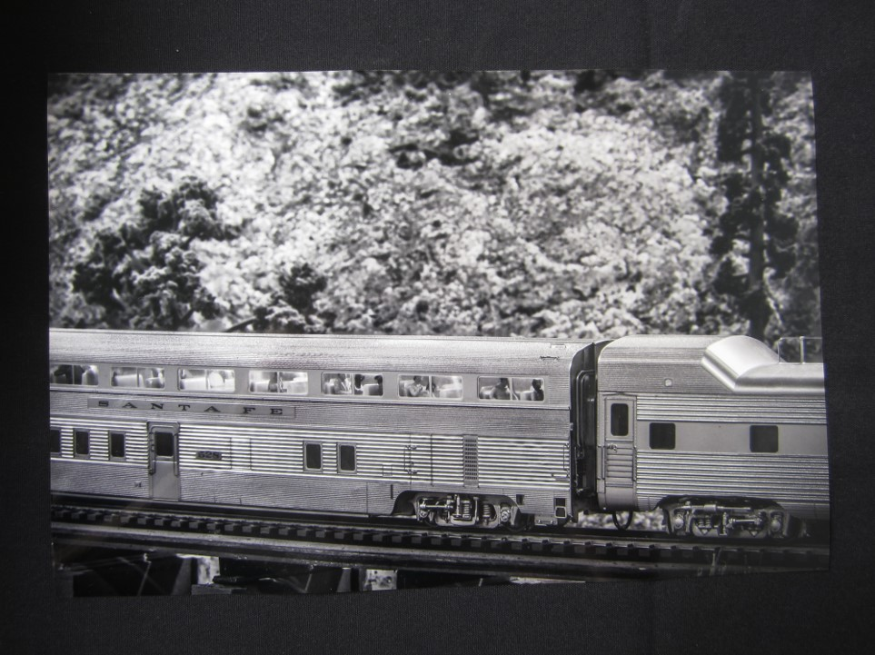 Photo of 3rd Place ATSF Model Photo of high level cars