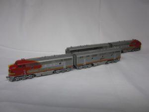 Photo of model ATSF F3 #31LABC
