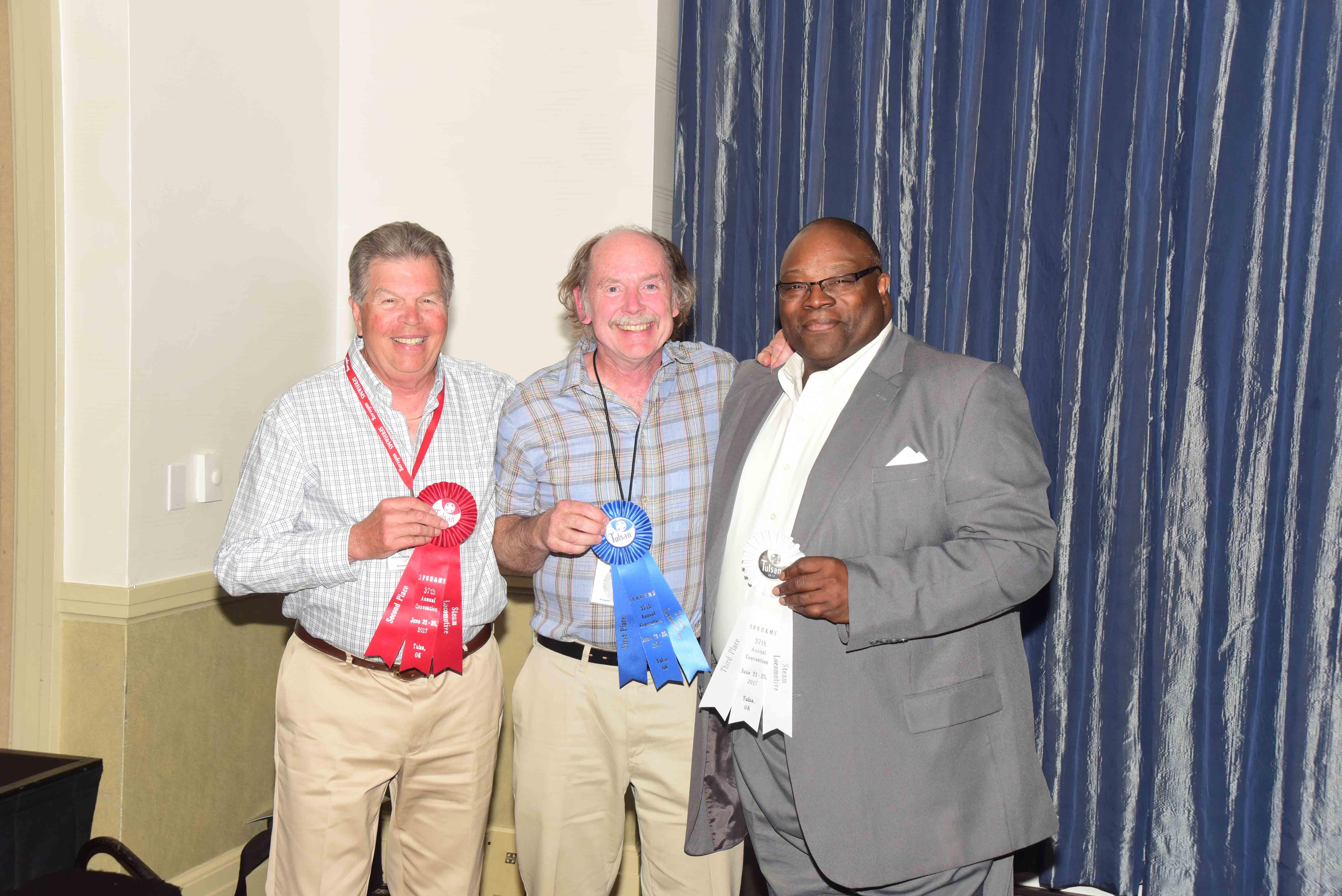 2017 ATSF Steam Locomotive model contest winners