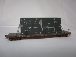 Photo of 3rd Place Freight car Flat 90749 with load