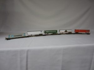 Photo of 2nd Place ATSF Intermodal container and piggyback cars