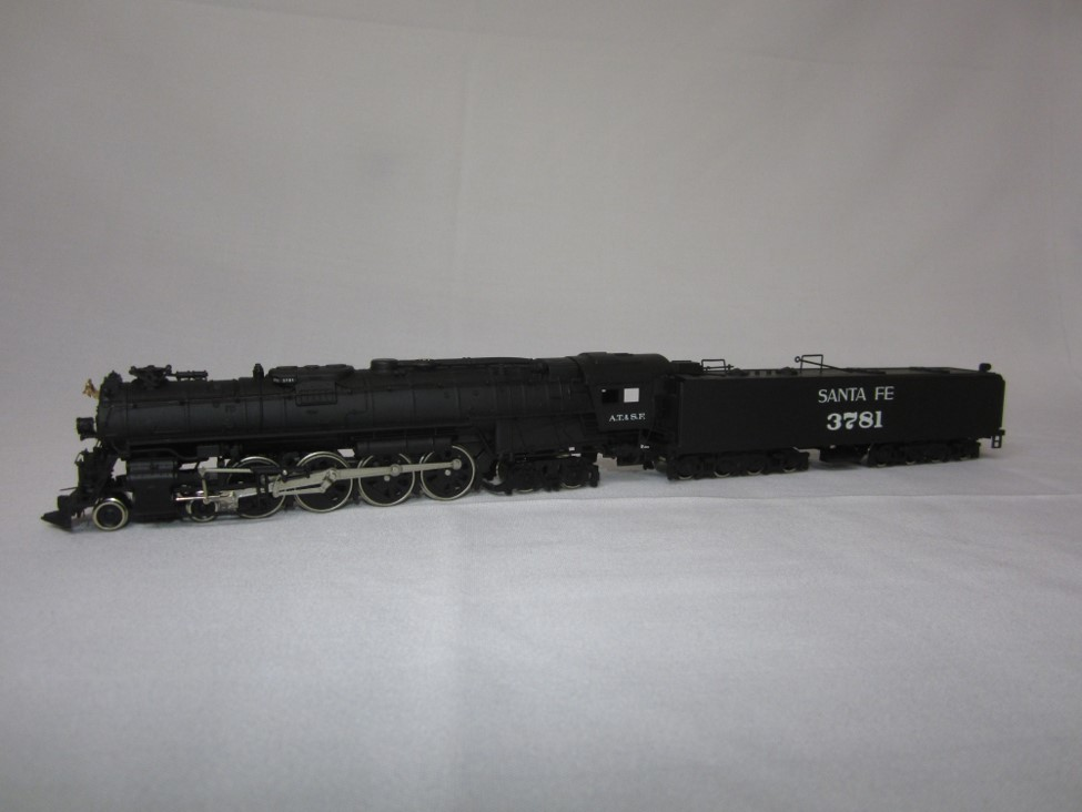 ATSF Heavy Mountain #3781 (model)