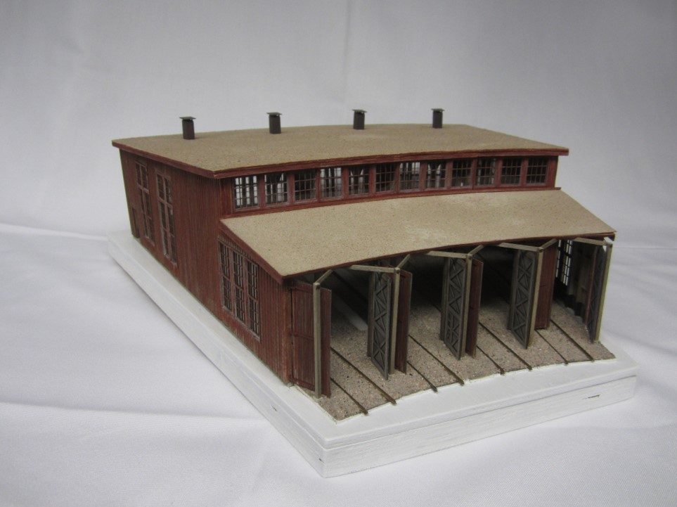 Photo of 3rd Place ATSF Structure Lometa, TX, roundhouse