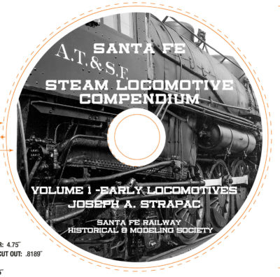 ATSF Steam Compendium CD