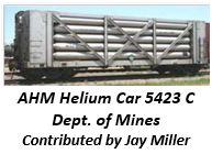 AHM Helium Car 5423C - Department of Mines