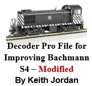 Decoder Pro File for Improving Bachmann S-4 - Modified