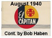 Advertising Brochure - El Capitan; August 1940 (Bob Haben)