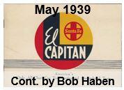 Advertising Brochure - El Capitan; May 1939 (Bob Haben)