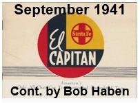 Advertising Brochure - El Capitan; September 1941 (Bob Haben)