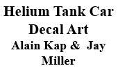 Helium Tank Car Decal Art