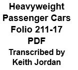 Heavyweight Pasenger Car Folio 211-17 (PDF)