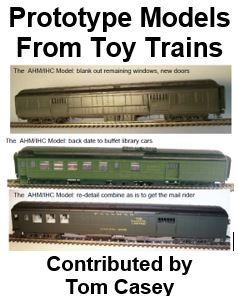 Prototype Models from Toy Trains