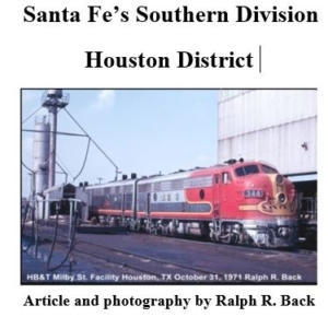 Santa Fe's Southern Division, Houston District