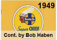 Advertising Brochure - Super Chief; 1949 (Bob Haben)