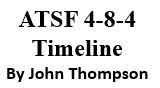 Santa Fe 4-8-4 Timeline