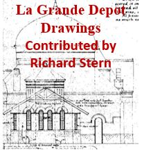La Grande Depot Drawings (Richard Stern)