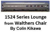 1524 Series Lounge from Walthers Chair Car