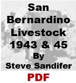 San Bernardino Livestock - 1943 and 1945 (PDF)