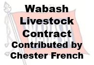 Wabash Livestock Contract
