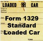 Form 1329 Standard - Loaded Car