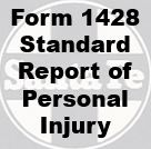 Form 1428 Standard - Report of Personal Injury