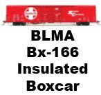 Model Review - BLMA Bx-166 Insulated Box Car
