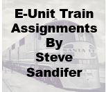 E-Unit Train Assignments