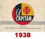 Advertising Brochure - El Capitan; 1938 (Bob Haben)