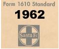 Form 1610 Standard - List of Numbers Assigned to Stations - 1962