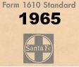 Form 1610 Standard - List of Numbers Assigned to Stations - 1965