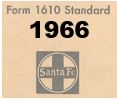Form 1610 Standard - List of Numbers Assigned to Stations - 1966