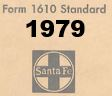 Form 1610 Standard - List of Numbers Assigned to Stations - 1979
