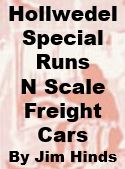 Model Review - Hollwedel Special Run N-Scale Freight Cars