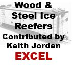 Wood and Steel Ice Reefers (Excel)