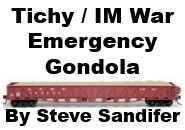 Model Review - Tichy / Intermountain War Emergency Gondola